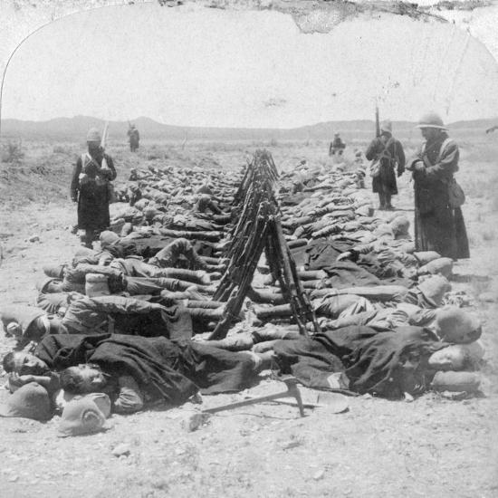 British Soldiers Sleeping, South Africa, 2nd Boer War, 30 December 1900-Underwood & Underwood-Giclee Print