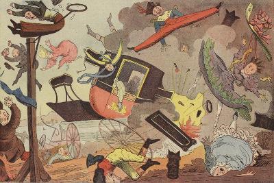 British Steam Carriage--Giclee Print