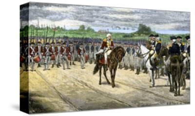 British Surrender at Yorktown, 1781, Effectively Ending the American Revolution