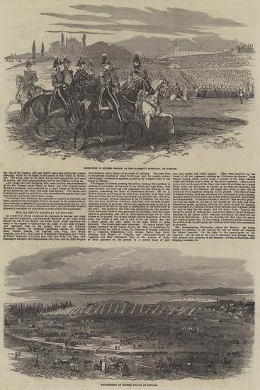 British Troops at Scutari--Giclee Print