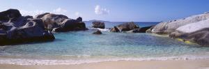 British Virgin Islands, Virgin Gorda, Rock on the Beach