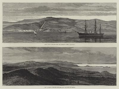 British War Ships Off Boulair--Giclee Print
