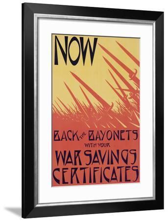 British World War One Poster--Framed Giclee Print