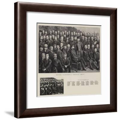 British Yachtsmen, a Portrait Group--Framed Giclee Print
