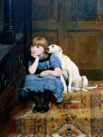 Sympathy, 1877 by Briton Rivi?re