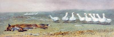 A Game of Fox and Geese, 1868