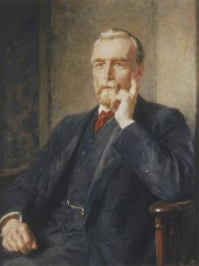 Alfred Fowell Buxton, 1917 by Briton Riviere