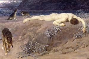 Dead Hector, 1892 by Briton Rivière