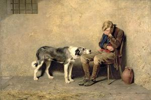 Fidelity, 1869 by Briton Rivière