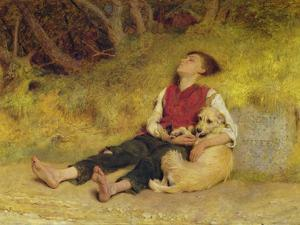 His Only Friend by Briton Rivière
