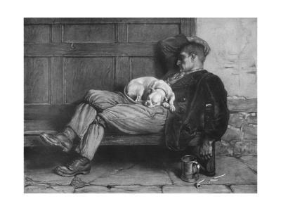 'Let Sleeping Dogs Lie!', 1880, (1912)