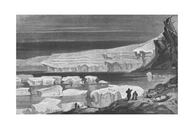 'The Great Humboldt Glacier, Peabody Bay', 1855, (1928)