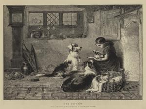 The Orphans by Briton Riviere