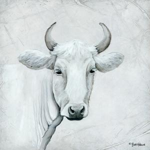 January Cow I by Britt Hallowell