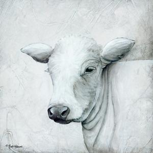 January Cow II by Britt Hallowell