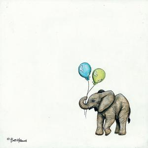 Nursery Elephant by Britt Hallowell