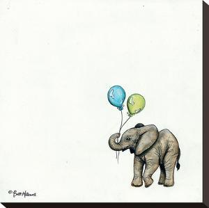 Nursery Elephant by Britt Hallowell