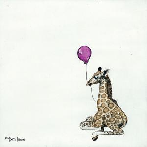 Nursery Giraffe by Britt Hallowell