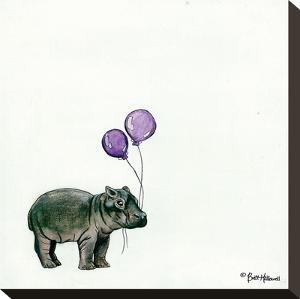 Nursery Hippo by Britt Hallowell