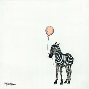 Nursery Zebra by Britt Hallowell