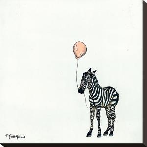 Nursery Zebra by Britt Hallowell