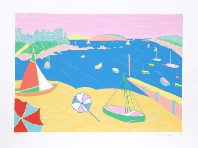 Brittany Beach-Marion McClanahan-Limited Edition