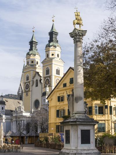 Brixen, View of the Cathedral. Central Europe, South Tyrol, Italy-Martin Zwick-Photographic Print