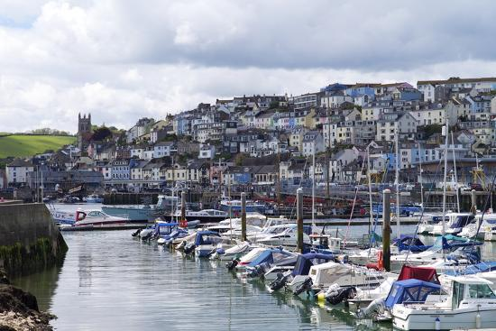 Brixham Harbour and Marina, Devon, England, United Kingdom, Europe-Rob Cousins-Photographic Print