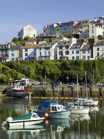 Brixham Harbour, Devon, England, United Kingdom-David Hughes-Photographic Print