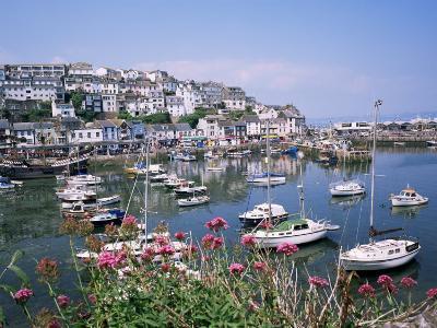 Brixham Harbour, Devon, England, United Kingdom-Roy Rainford-Photographic Print
