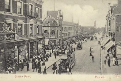 Brixton Road, London--Photographic Print