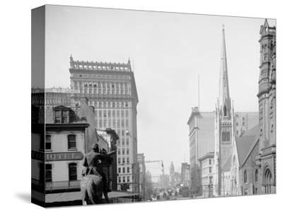 Broad St. North from City Hall, Philadelphia, Pa.