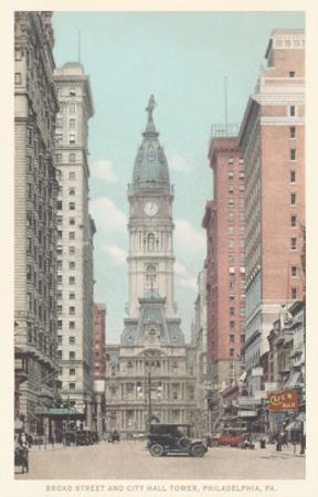 Broad Street, City Hall, Philadelphia, Pennsylvania