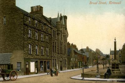 Broad Street, Kirkwall, Orkney, Scotland, 20th Century--Giclee Print