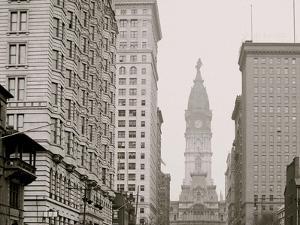 Broad Street, North from Locust Street, Philadelphia, Pa.