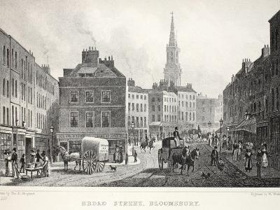 Broad Street-Thomas Hosmer Shepherd-Giclee Print