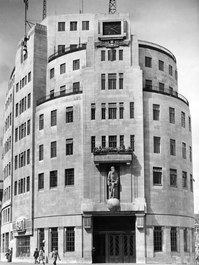 Broadcasting House 1948--Photographic Print