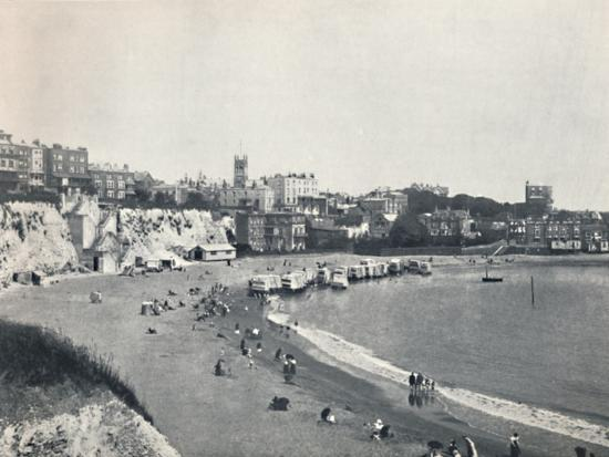 'Broadstairs - General View from the Cliffs', 1895-Unknown-Photographic Print
