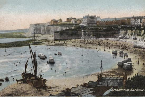 Broadstairs Harbour--Photographic Print