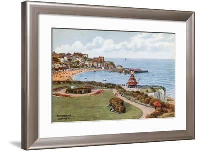 Broadstairs, Looking N-Alfred Robert Quinton-Framed Giclee Print