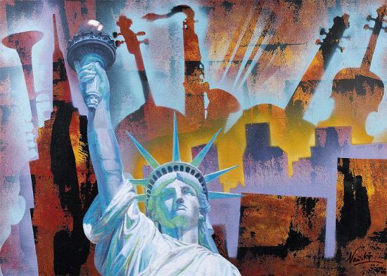 Broadway Folies- Nansky-Art Print