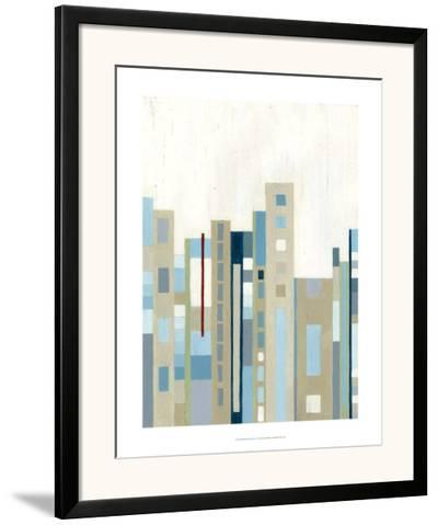 Broadway Horizon I-Vanna Lam-Framed Art Print