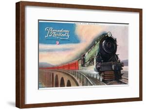 Broadway Limited, Pennsylvania Railroad, 1927