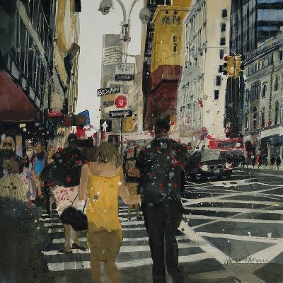 Broadway Melody, New York-Susan Brown-Giclee Print