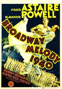 Broadway Melody of 1940, Eleanor Powell, Fred Astaire, 1940