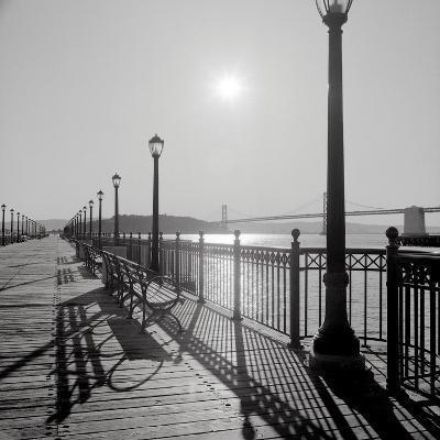 Broadway Pier #20-Alan Blaustein-Photographic Print