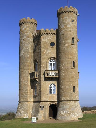 Broadway Tower, Cotswolds, Worcestershire, England, United Kingdom, Europe-Rolf Richardson-Photographic Print