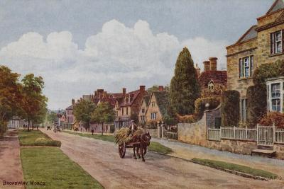 Broadway, Worcestershire-Alfred Robert Quinton-Giclee Print