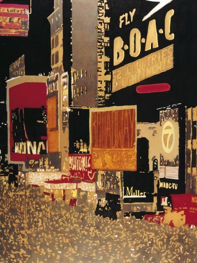 Broadway-Bruno Wekemans-Art Print
