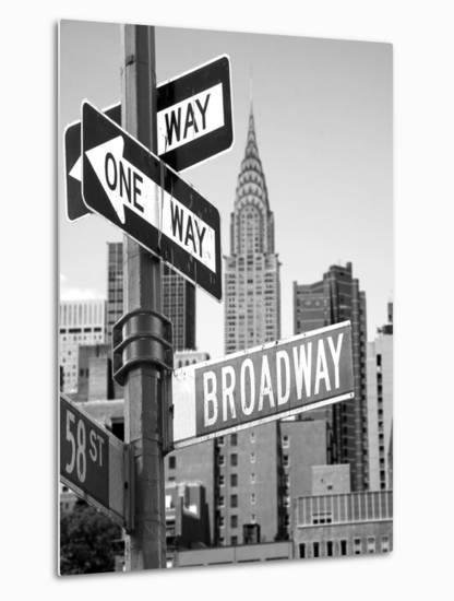 Broadway--Metal Print